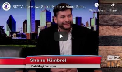 Data Magic Inc. Talks Remote Work On BIZTV Texas