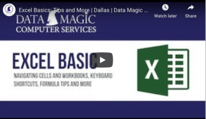 5 Tips to Help You Work With Microsoft Excel Like a Pro