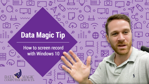 How to screen record Windows 10 Content
