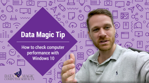 How to check computer performance Windows 10