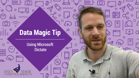 Simple speech to text with Microsoft Dictate
